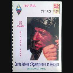 1. 71° régiment du génie Col du Granon Octobre 1995