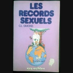 1. Les records sexuels de G.L. Simons aux éditions Guy Authier