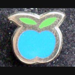 PIN'S DIVERS : Pin's pomme bleue et verte