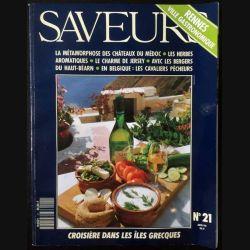 1. Saveurs n°21 Juin 92 - Rennes ville gastronomique