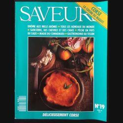 1. Saveurs n°19 Avril 92 - Corse la cuisine du maquis