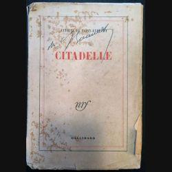 1. Citadelle de Antoine De Saint-Exupéry aux éditions Gallimard