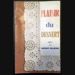 1. Plaisir du dessert par Mont Blanc
