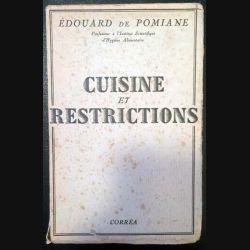1. Cuisine et restrictions de Édouard de Pomiane aux éditions Corrêa