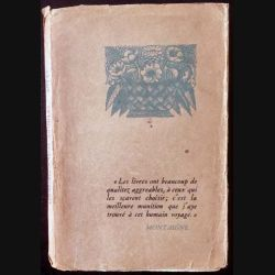 1. Aliborons et démagogues de René Benjamin aux éditions Arthème Fayard 1927