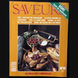 1. Saveurs n°10 Mars 1991 Reims étape en champagne