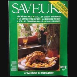 1. Saveurs n°12 Juin 1991 Bordeaux la revanche des chefs