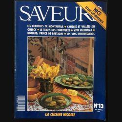 1. Saveurs n°13 Juillet - Août 1991 Nice étape gourmande