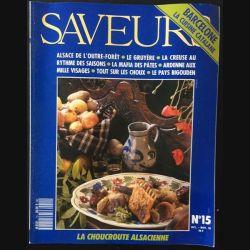 1. Saveurs n°15 Octobre - Novembre 1991 Barcelone la cuisine catalane