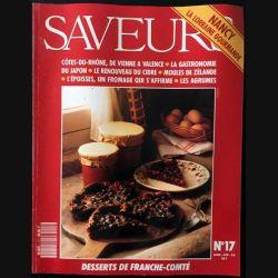 1. Saveurs n°17 Janvier - Février 1992 Nancy la lorraine gourmande