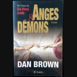 1. Anges et démons de Dan Brown aux éditions Jc Lattès