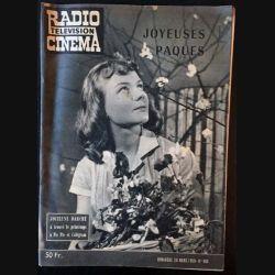 1. Radio télévision cinéma n°480 - Dimanche 29 Mars 1959 Jocelyne Darché à trouvé le printemps à Pic Pic et Colégram