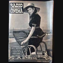 1. Radio télévision cinéma n°487 - Dimanche 17 Mai 1959