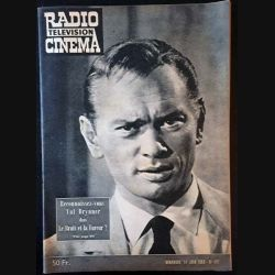 1. Radio télévision cinéma n°491 - Dimanche 14 Juin 1959 Reconnaissez-vous Yul Brynner dans Le Bruit et la Fureur ?
