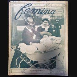 1. Femina n°102 - 15 Avril 1905 aux éditions Pierre Lafitte & Cie