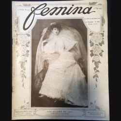 1. Femina n°103 - 1er Mai 1905 aux éditions Pierre Lafitte & Cie