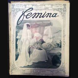 1. Femina n°156 - 15 Juillet 1907 aux éditions Pierre Lafitte & Cie