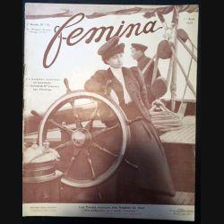 1. Femina n°157 - 1er Août 1907 aux éditions Pierre Lafitte & Cie