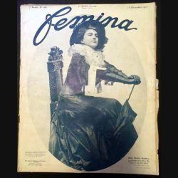 1. Femina n°166 - 15 Décembre 1907 aux éditions Pierre Lafitte & Cie