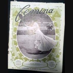 1. Femina n°180 - 15 Juillet 1908 aux éditions Pierre Lafitte & Cie