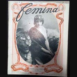 1. Femina n°183 - 1er Septembre 1908 aux éditions Pierre Lafitte & Cie