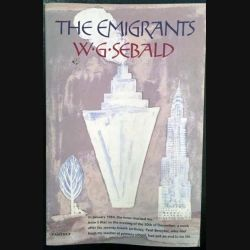 1. The emigrants de W.G. Sebald aux éditions The harvill press