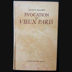 1. Évocation du vieux Paris de Jacques Hillairet aux éditions de Minuit