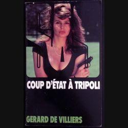 1. SAS Coup d'état à tripoli de Gérard de Villiers aux éditions Gérard de Villiers