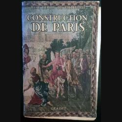 1. Construction de Paris de René Héron de Villefosse aux éditions Grasset