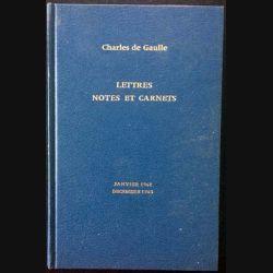 1. Lettres notes et carnets Janvier 1961 - Décembre 1963 de Charles de Gaulle aux éditions Plon