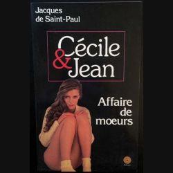 1. Cécile et Jean affaire de moeurs de Jacques de Saint Paul aux éditions Média 1000