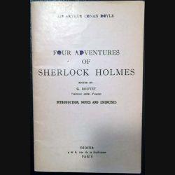 1. Four adventures of Sherlock Holmes de Sir Arthur Conan Doyle aux éditions Didier