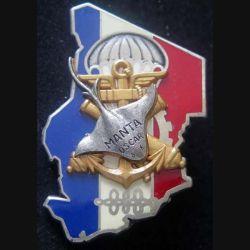 MANTA : insigne métallique du Groupement Manta oscar au Tchad de fabrication Drago Paris