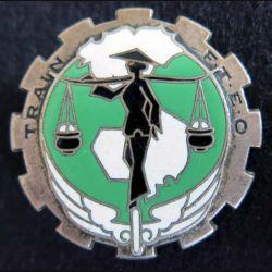 TFTEO : Train des Forces Terrestres d'Extrême Orient Drago Olivier Métra Déposé H. 802 émail