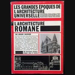 1. L'architecture romane de Howard Saalman aux éditions Des deux-monde