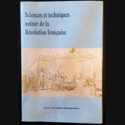 1. Sciences et techniques autour de la Révolution française aux éditions Société des études Robespierristes