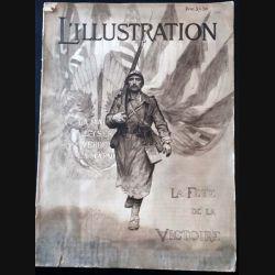 1. L'illustration La fête de la victoire 19 - 26 Juillet 1919