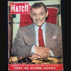 1. PARIS MATCH n°167 Du 24 au 31 Mai 1952 : Clark Gable à Paris