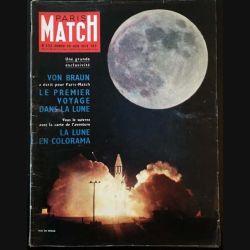 1. PARIS MATCH n°532 Samedi 20 Juin 1959 : Von Braun a écrit pour Paris Match Le premier voyage dans la lune