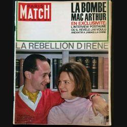 1. PARIS MATCH n°784 18 Avril 1964 : La bombe Mac Arthur en exclusivité