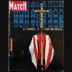 1. PARIS MATCH n°826 6 Février 1965 : L'adieu à Churchill