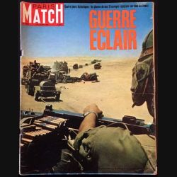 1. PARIS MATCH n°949 17 Juin 1967 : Guerre éclair
