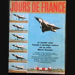 1. Jours de France n°418 17 Novembre 1962 : Le premier avion français à décollage vertical est un avion Marcel Dassault