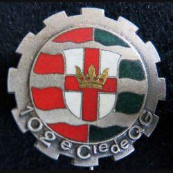 102° CQG :102° compagnie de quartier général Drago Paris G. 826 émail