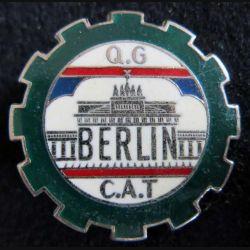 QG CAT BERLIN : compagnie auxiliaire de transport du quartier général de Berlin Drago Paris G. 1577