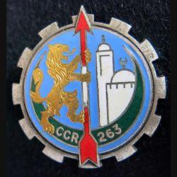 263° CCR : 263° compagnie de circulation routière Drago Paris G. 1299 en émail