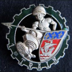 1° RT : 1° régiment du Train de fabrication Drago Beranger H. 582 en émail