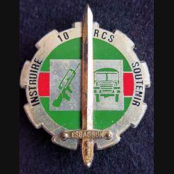 10° RCS : 11° escadron d'insruction du 10° régiment de commandement et de soutien Delsart
