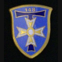 148°BT : 148°BATAILLON DE TRANSMISSIONS (DRAGO 714) ÉMAIL