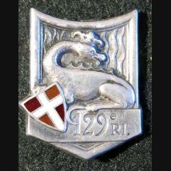 129° RI : 129° régiment d'infanterie fabrication Drago Paris G. 429